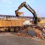 Вывоз строительного мусора после демонтажных работ в Санкт-Петербурге и области
