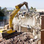Демонтаж зданий в СПб и ЛО