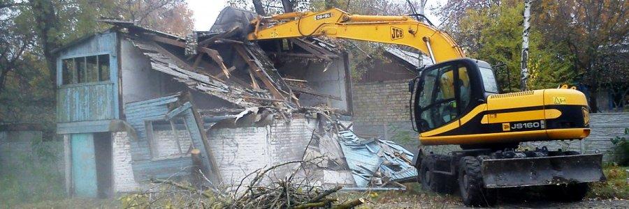 Снос старых домов в СПб и ЛО
