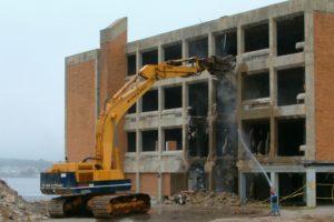 Демонтаж промышленного здания в СПб и Ленобласти