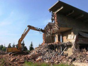 Демонтаж зданий в Санкт-Петербурге и области