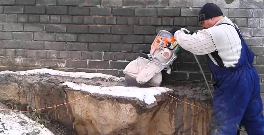 Демонтаж бетонных конструкций в СПб и ЛО