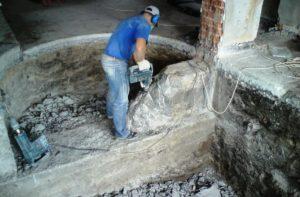 Демонтаж стен, перегородок, полов в СПб и ЛО